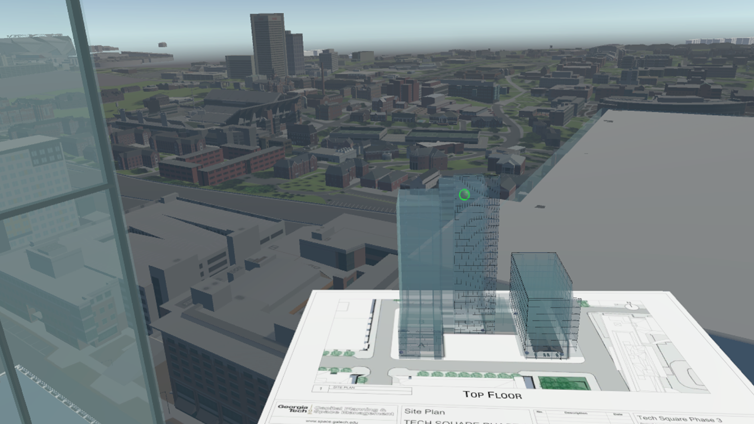 3D models of the Georgia Tech Campus